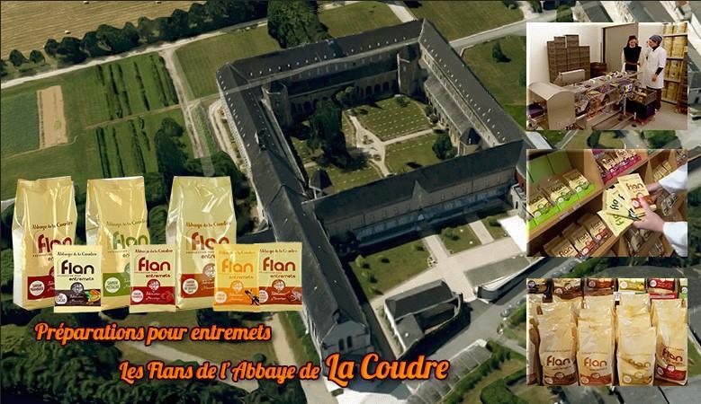 Préparations pour Flans de l'Abbaye de la Coudre
