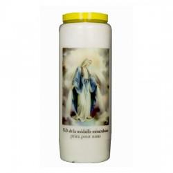 Bougie Neuvaine Vierge Miraculeuse