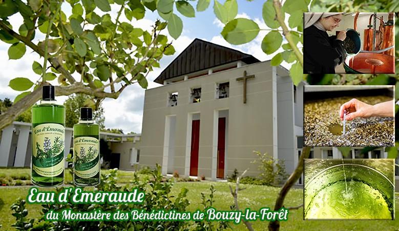 Eau d'Emeraude du Monastère de Bouzy la Forêt