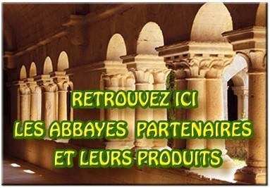 Liste des Abbayes partenaires de la Boutique des Abbayes