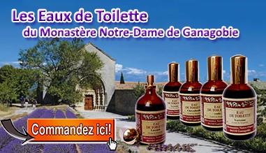 Eaux de Toilette du Monastère de Ganagobie